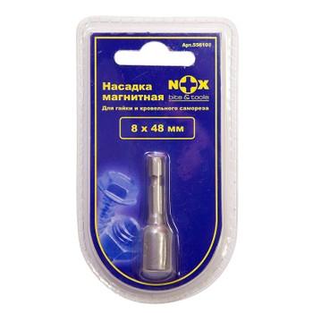 Бита с торцевой головкой магнитная 8х48мм Nox