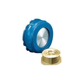 Обратный клапан пружинный тип NVD802, межфланц, латунь, PN16; DN 32, Danfoss