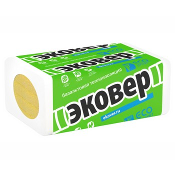 Мин. плита ЭКОФАСАД 10 (1000x600x50мм)x8 Эковер