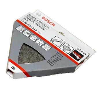 Наждачная бумага 93мм Р400 BOSCH (уп. 5 шт.)