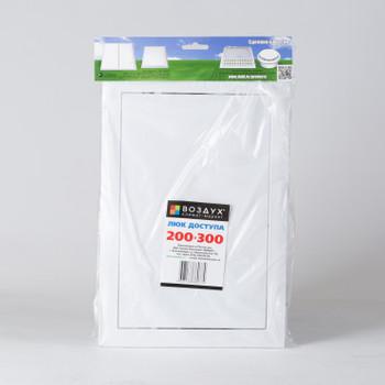 Лючок Д 200*300мм пластик