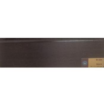 Плинтус Braim шпонированный высокий (539486, Венге, 80x15x2400 мм)