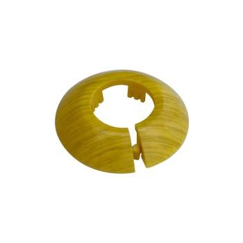 Розетты (обвод) вокруг трубы, диаметр 32, цвет дуб золотистый
