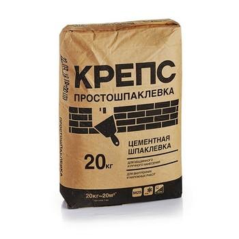 Шпаклевка Крепс Простошпаклевка, 20 кг