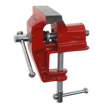 Тиски слесарные 60 мм с креплением для стола TUNDRA