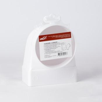 Соединитель угловой с фитингом ERA 60х120 D=100 (612СК10ФП)