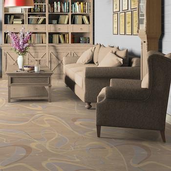 Линолеум бытовой Гранд Астон 2 2,5 м, 1 Класс