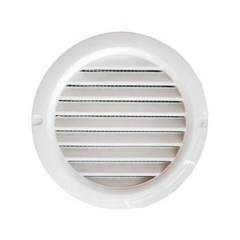 Решетка вентиляционная 128x128мм МВ 100 бВС (круглая)