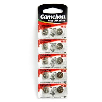 Элемент питания G10 (389А) BL-10 Camelion