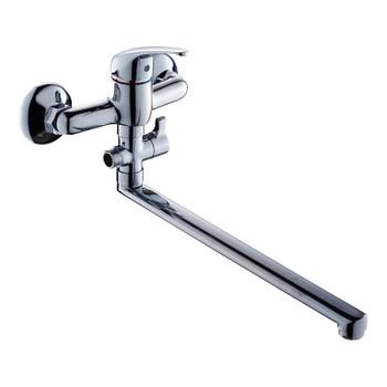 Смеситель GROSS AQUA Mini для ванны и душа с длинным изливом 350 мм 7210213-35F