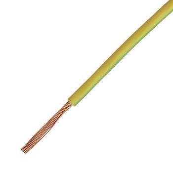 Провод ПуГВ 1х6,0 кв.мм желто-зеленый ГОСТ