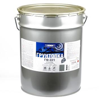 Грунт ГФ-021 Proremontt серый 18 кг