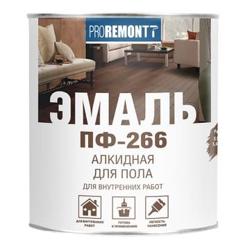 Эмаль Пф-266 Proremontt жел-корич 0,9 кг