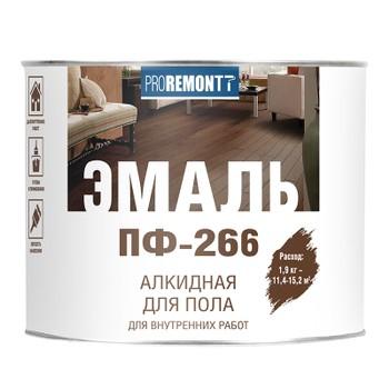 Эмаль Пф-266 Proremontt кр-корич 1,9 кг