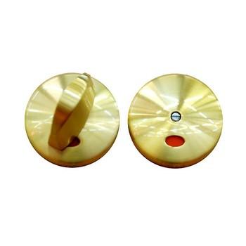Завертка EDSON Матовое золото, Серия Премиум (WC ZJ040-WC SATIN GOLD)