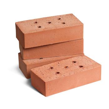 Кирпич строительный полнотелый одинарный К-1,0 красный, пустотность 6%, Кемма