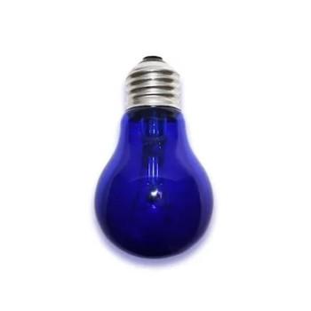 Лампа накаливания вольфрамовая синяя Е27 Калашниково