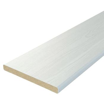 Добор 100х10х2100мм ламинированный белый
