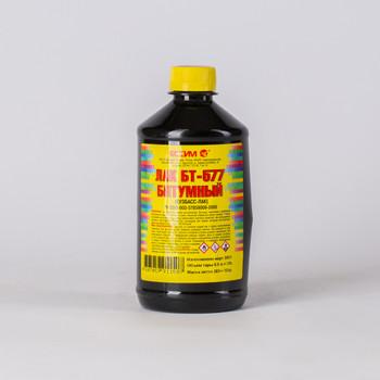 Лак битумный БТ-577, 0,5л
