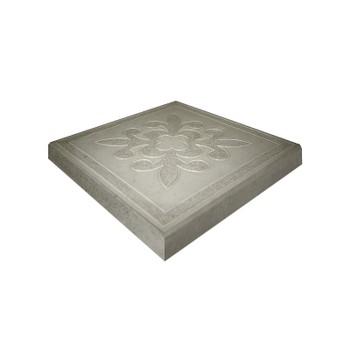 Плитка тротуарная Краковская ЭКО-плит 300*300*30, серый