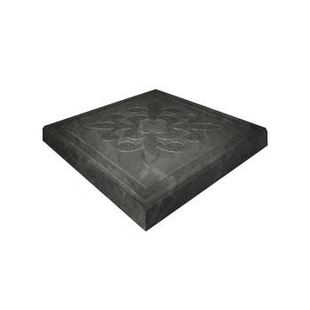 Плитка тротуарная Краковская черная (300x300x30)