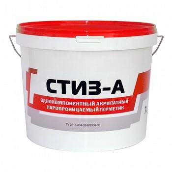 Герметик акрилатный Стиз А паропроницаемый (белый), 7 кг