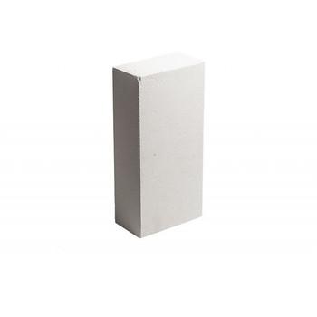 Кирпич облицовочный силикатный полнотелый одинарный М-150/200, белый, Винзили