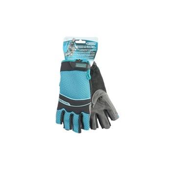 Перчатки комбинир. открытые пальцы AKTIV, L, GROSS