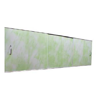 Экран под ванну 1,5х0,5м св. зеленый, шт