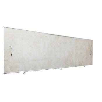 Экран под ванну 1,5х0,5м св. коричневый, шт