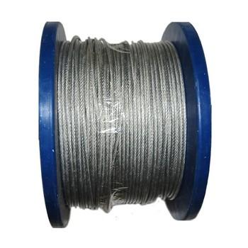 Трос сталь в ПВХ SWR м2 PVC м3