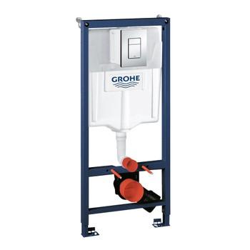 Инсталляция для унитаза Grohe Rapid SL 38772001 3 в 1 с кнопкой смыва