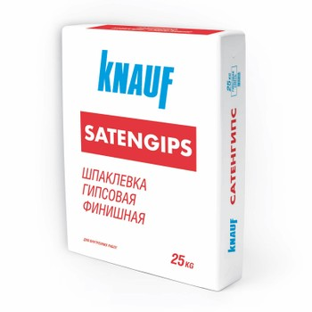 Шпатлевка Кнауф Сатенгипс, 25 кг