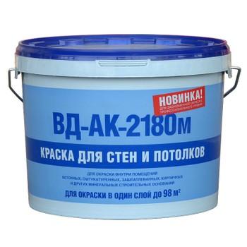 Краска для стен и потолков ВД-АК-2180М, 14кг