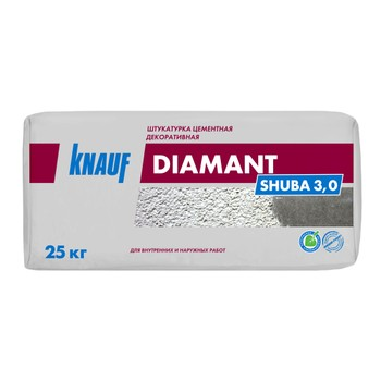 Штукатурка декоративная Кнауф Диамант Шуба 3 мм, 25 кг