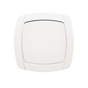 Выключатель одноклавишный белый 10А СП Севиль