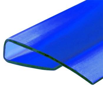 Профиль торцевой синий, 4мм х2,1м