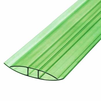 Профиль соединительный зеленый, 4мм х6м