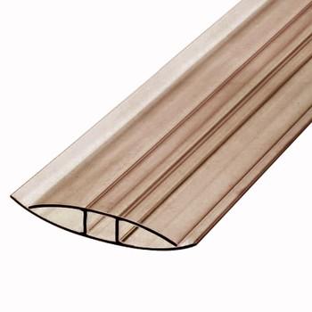 Профиль соединительный бронза коричневый 4мм х6м