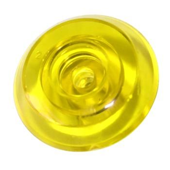 Термошайба монолит желтая, 4мм