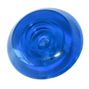 Термошайба монолит синяя, 4мм