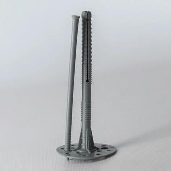 Дюбель для теплоизоляции с пластиковым гвоздём 10х140