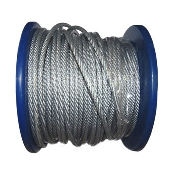 Трос сталь в ПВХ SWR м5 PVC м6