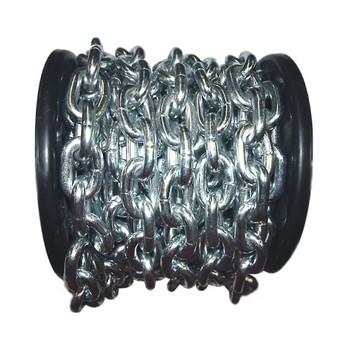 Цепь сварная короткозвенная, оцинк. SLC 10 (10м) DIN 766
