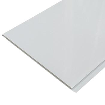 Панель стеновая ПВХ П-25 белая глянцевая 250х2700 мм