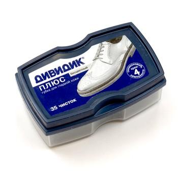 Губка для обуви бесцветная