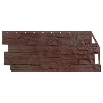 Панель фасадная FineBer Скала жёлто-коричневый 1094х459мм