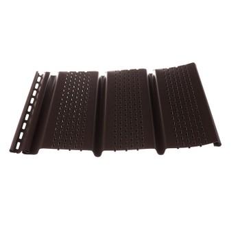 Софит перфорированный Т4 (шоколад) 3,05*0,305м Дёке