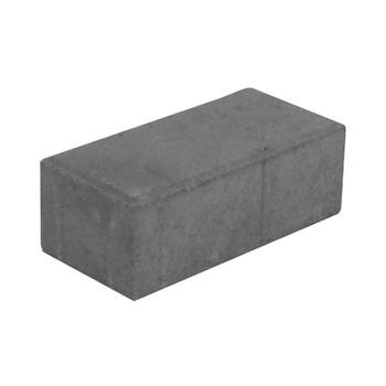 Брусчатка Прямоугольник серый (98х198х70)
