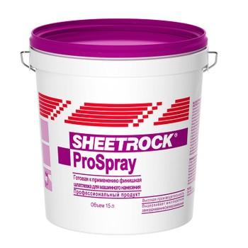 Шпатлевка Sheetrock Prospray 25 кг